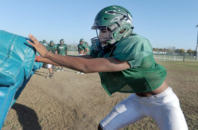 Pacifica High's Devin Aupiu will now head to Notre Dame to play college football.
