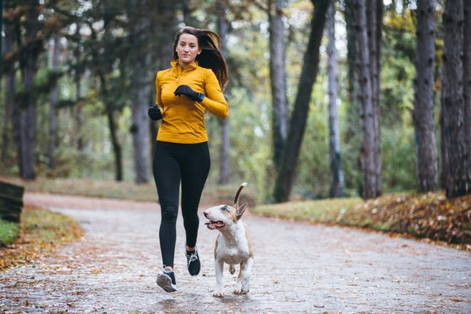 Braving the cold weather for a workout may be a little easier with a friend.