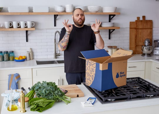 Food Network star and Fortina owner Christian Petroni has partnered with Blue Apron.