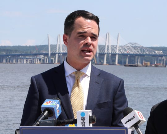 State Sen. David Carlucci, pictured July 12, 2018, announced that he is running for the U.S. House of Representatives seat currently held by Nita Lowey.