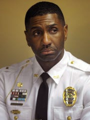 Dover police Chief Marvin Mailey in 2017. Mailey has been tapped to head the Delaware Bureau of Community Corrections.