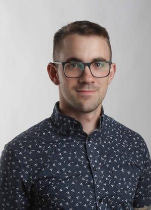 Jared Wallen, reportero de datos visuales, The News Journal.