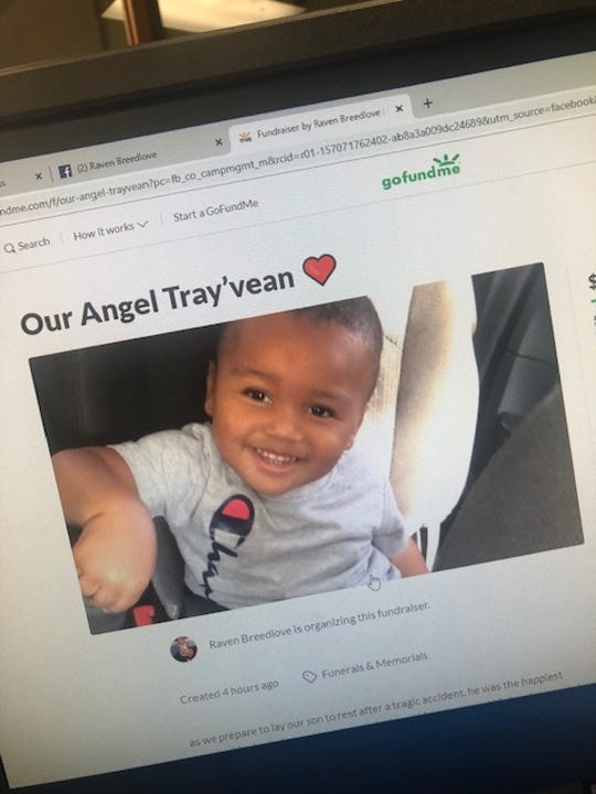 A GoFundMe account has been set up for the family of Tray'vean Jones, killed when he was hit by a car Wednesday night off Old Iowa Park Road.