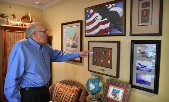 Vietnam veteran Kenn Hill recounts a few of the commendations he received as a combat helicopter pilot during the Vietnam War.