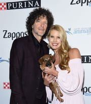 Howard and Beth Stern attend the North Shore Animal League America Gala on Dec. 1, 2017 in New York City.