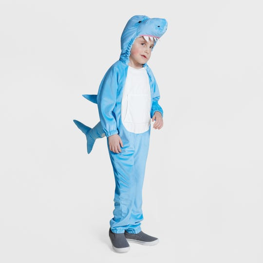 An inclusive Shark costumes at Target.