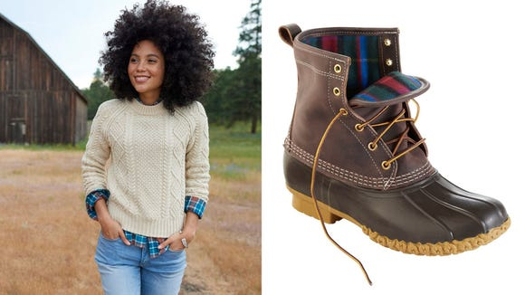 Flannel, fleece, and Bean Boots—oh my!
