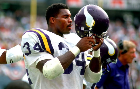 Herschel Walker played in 42 games for the Vikings, rushing for 2,264 yards and 20 TDs.