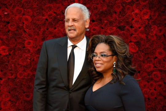 Oprah Winfrey met her longtime love, Stedman Graham, at a charity event in 1986.