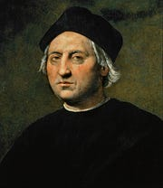Christopher Columbus by the painter Ridolfo Ghirlandaio