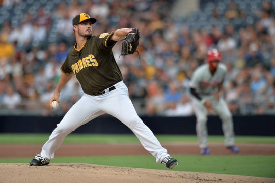 The Jacob Nix of Padres last played in 2018 in the major leagues 7:02 ERA in 42 1/3 innings.