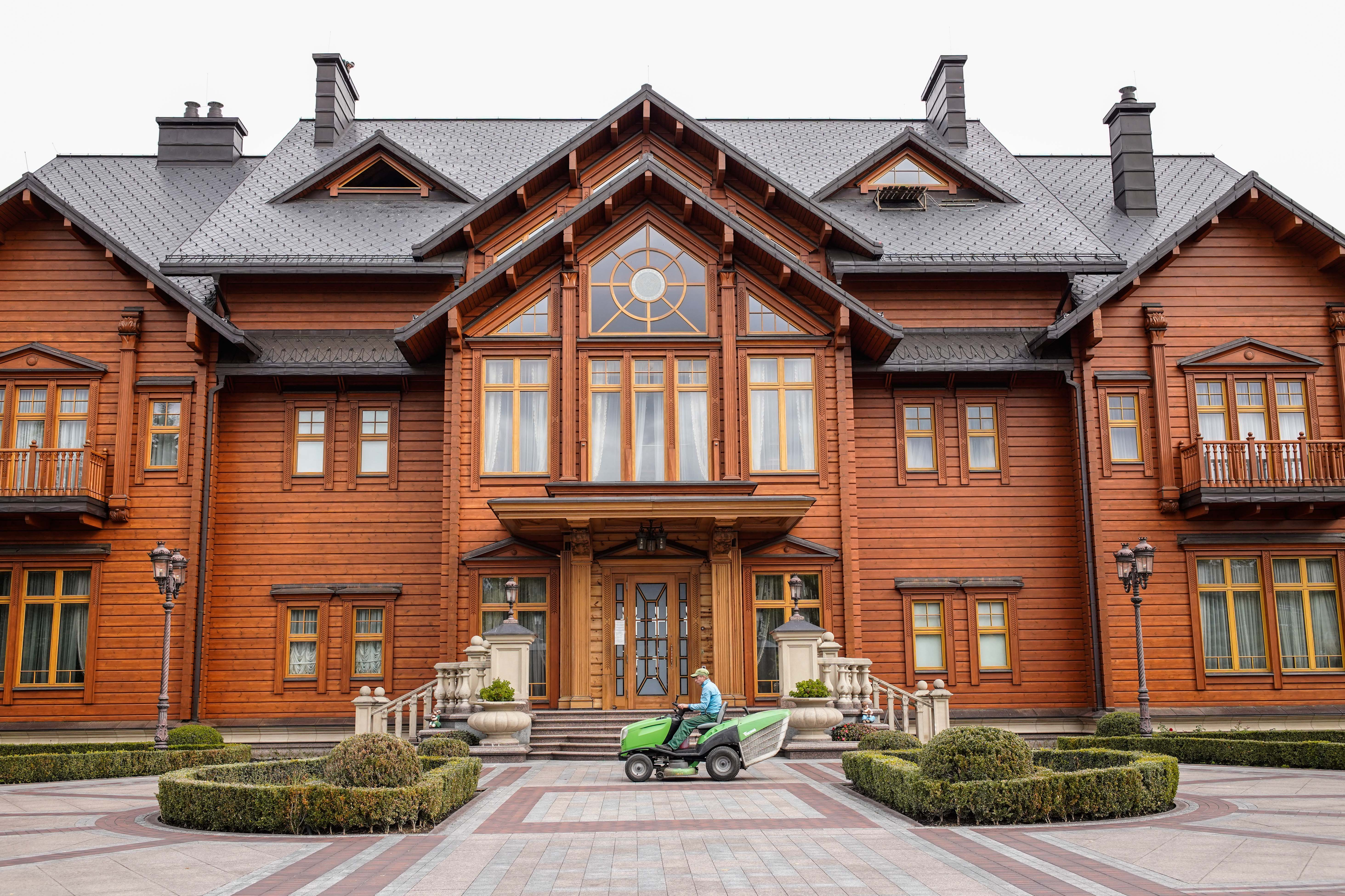 Former Ukrainian President Viktor Yanukovych's estate outside Kyiv is now a museum of corruption.