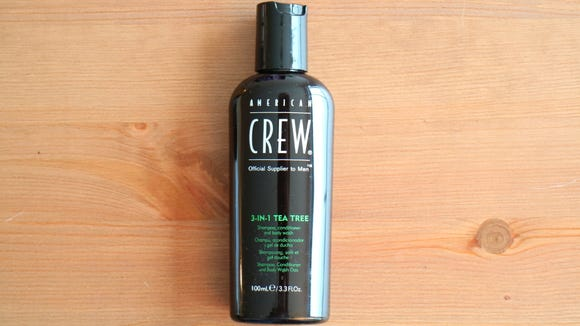 Take less time and space in the shower with the American Crew 3-in-1.