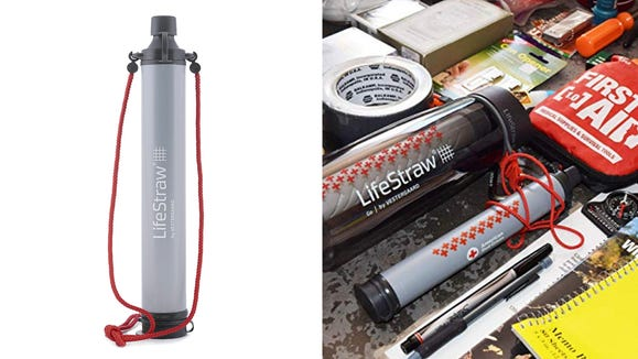 If you have any hikes planned this fall, you'll want a LifeStraw packed away just in case.
