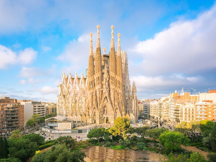 19. Barcelona, Spain