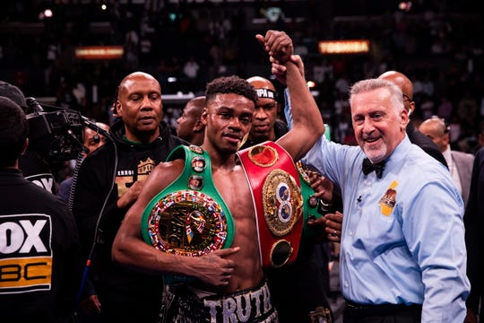 Welterweight boxing champion Errol Spence Jr. seriously injured in Dallas car wreck