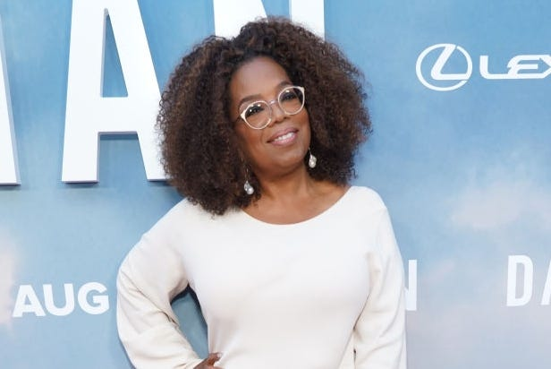 Oprah Winfrey says she never was good at compartmentalizing, which wouldn't have suited her to motherhood or marriage.