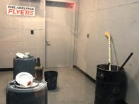Philadelphia Flyers set up 'Rage Room,' where fans can smash objects for a price