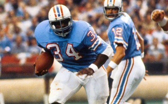 Earl Campbell was a three-time AP Offensive Player of the Year and played in five Pro Bowls.