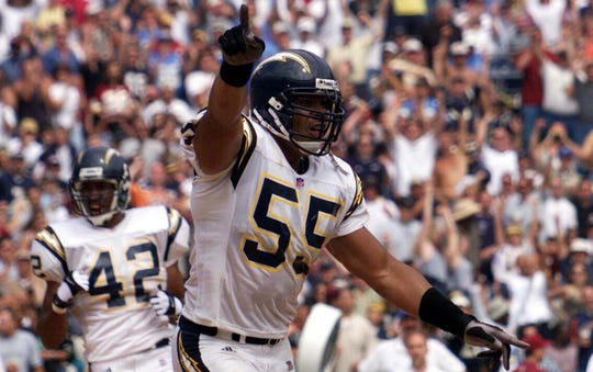Junior Seau was the NFL Defensive Player of the Year in 1992, the NFL Man of the Year in 1994 and played in 12 Pro Bowls.