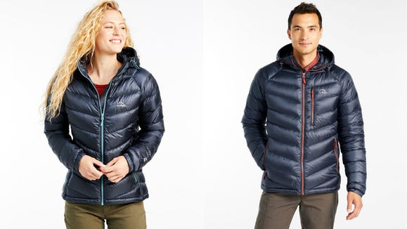 This winter, stay warm with a water-resistant coat.