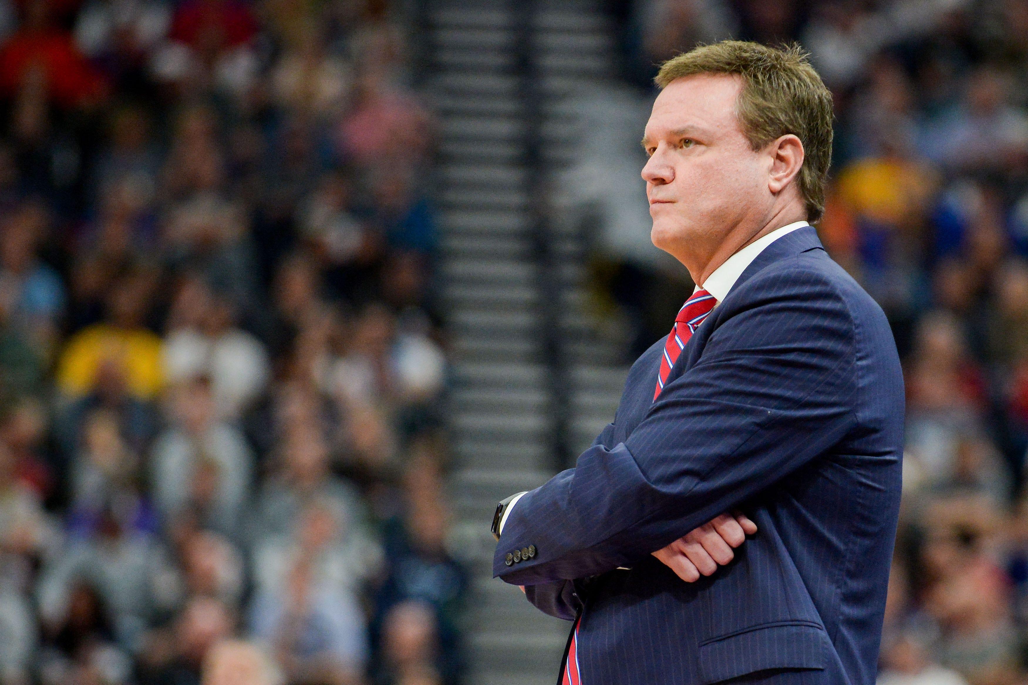 Bill Self, Kansas to fight NCAA allegations against basketball program