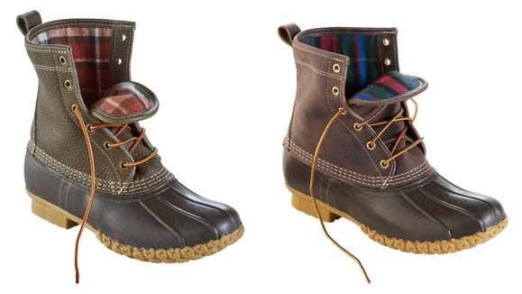 Give your Bean Boot a stylish and warmer upgrade.