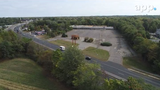 DRONE VIEW: Hazlet has plans for empty commercial sites along Route 36 in the town.