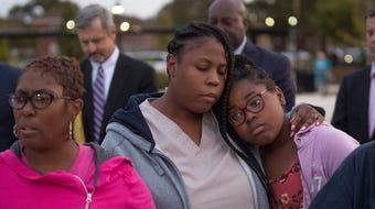 Community leaders and citizens gathered to pray and seek answers to the upturn in street violence in Asbury Park and Neptune.
