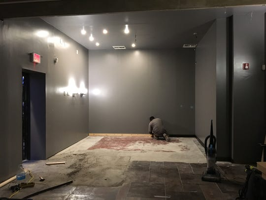 Work on the sensory friendly dining room underway in Riv's Toms River Hub
