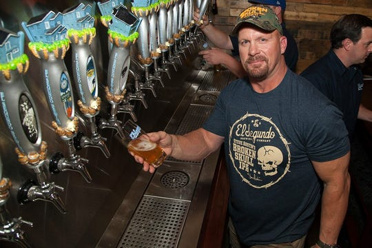 Stone Cold Steve Austin has collaborated with El Segundo Brewing Company of California on Broken Skull IPA.