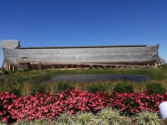 Lovina and family visited the Ark Encounter, a full-scale representation of Noah's Ark in Williamstown, KY, while traveling for a family wedding.