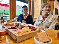 Tom and Suzy Truax, of Falconer, New York, attended the Creative Mountain Food Tours' Ultimate Foodie Tour on Oct. 5.