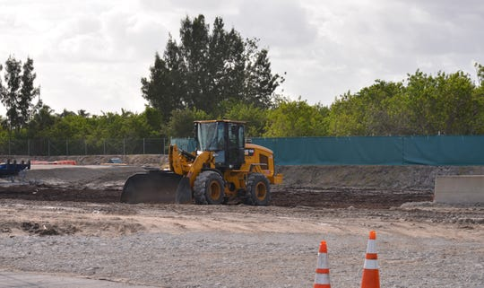 Work continues this week at the spoil site adjacent to Pineda Causeway in Satellite Beach.