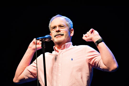 "Storyteller Mark Redmond brings ""The Mustache Diaries"" to FlynnSpace on Oct. 25."