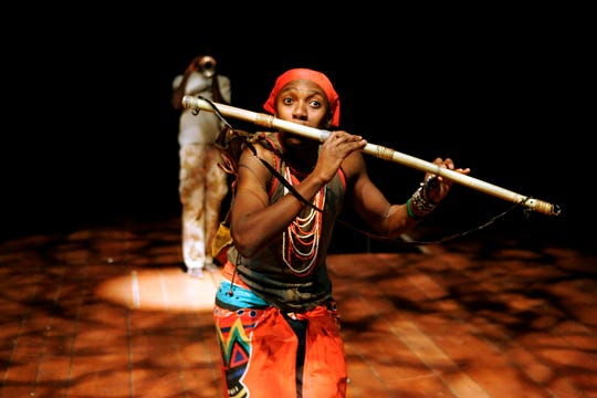 "The Isango Ensemble performs ""The Magic Flute"" (""Impempe Yomlingo"") Oct. 25 at the Flynn Center."