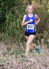 Chillicothe senior Laikin Tarlton took first place with a time of 19:53.47 at the 2019 Frontier Athletic Conference (FAC) Cross Country meet on Oct. 10, 2019, in Chillicothe, Ohio.