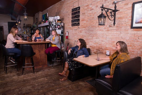Area businesswomen Courtney Lewis, Tara Gillum, Christin Clever, Melissa Huggins, and Nikki Bridenbaugh are just a few of the faces downtown as several businesses are being led by prominent females in the community.
