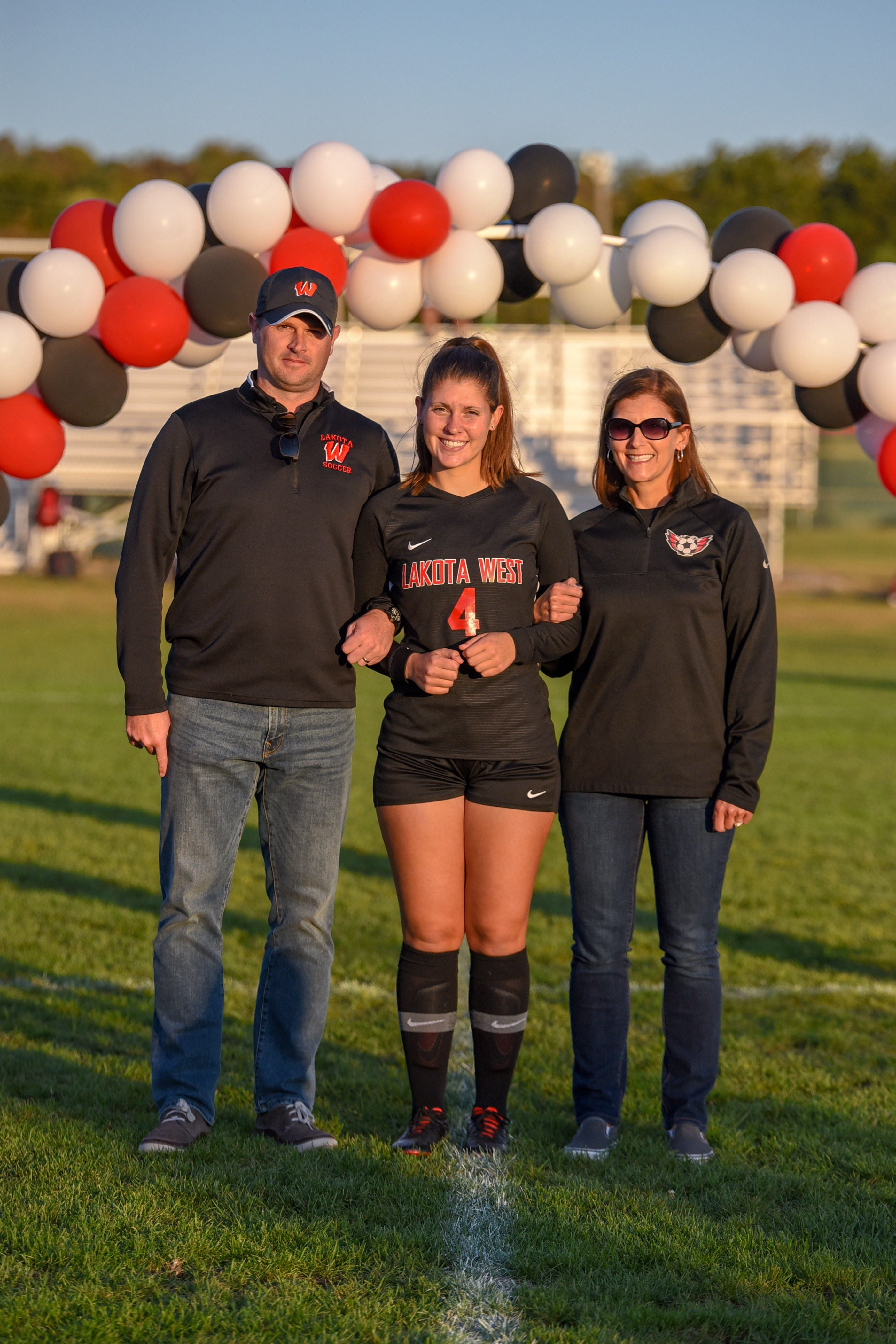 PHOTOS: Families share fall sports Senior Night photos