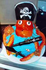 Darcy Lower won Most Unusual during last year's BPW Cake Auction with her octopus cake.
