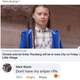 Iowa teacher who posted 'sniper rifle' comment about climate activist's visit resigns