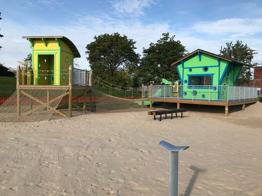 Robert C. Valade Park, formerly known as Atwater Beach, opens to the public on Oct. 26, 2019. Photo taken Oct. 11, 2019.