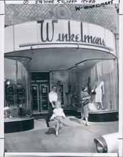 Winkelmans Department Store in Detroit, Michigan.