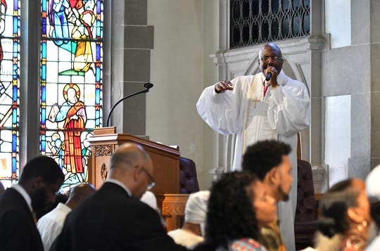Rev. Charles C. Adams, the son of Rev. Charles G. Adams, will assume his father's role as senior pastor at Hartford Memorial Baptist Church in Detroit.