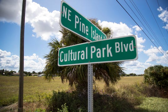 Sam Galloway Ford owns the land east of Fucillo Kia on Pine Island Road in Cape Coral over to Cultural Park Boulevard.