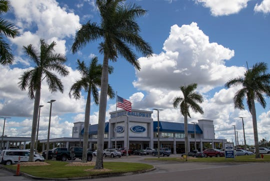 The Sam Galloway Ford dealership in Fort Myers is on Boy Scout Drive.