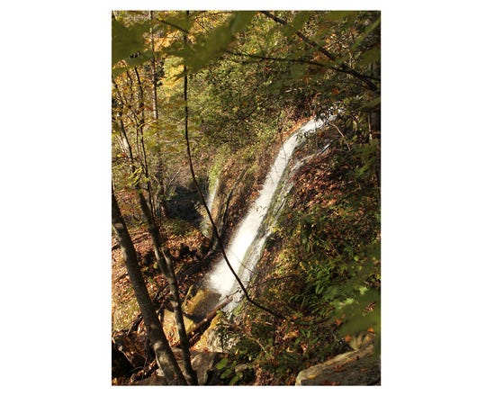 Twin Falls in Pickens County