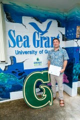 Associate Professor Peter Houk of the University of Guam Marine Laboratory is one of two awardees of UOG Sea Grant's 2019 competitive research cycle