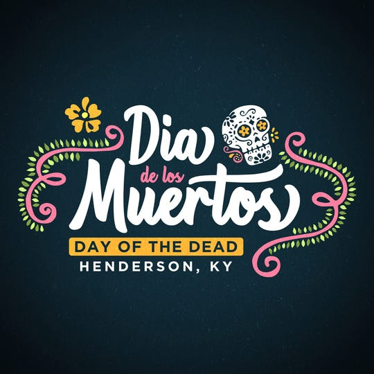 Logo for Day of the Dead, or Dia de Los Muertos