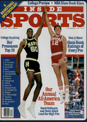 "Steve Alford remembers this 1986 photo shoot with David Robinson. ""They told us we were supposed to high five at the top of the jump,"" he said. ""I'm like, 'He's seven foot."""